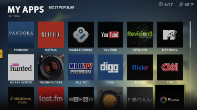 Boxee Applications